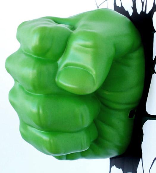 3D Hulk Fist