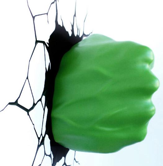 3D Lampe Hulk