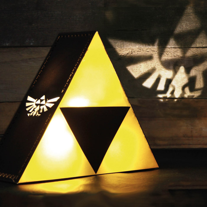 The Legend of Zelda TriForce Lampe