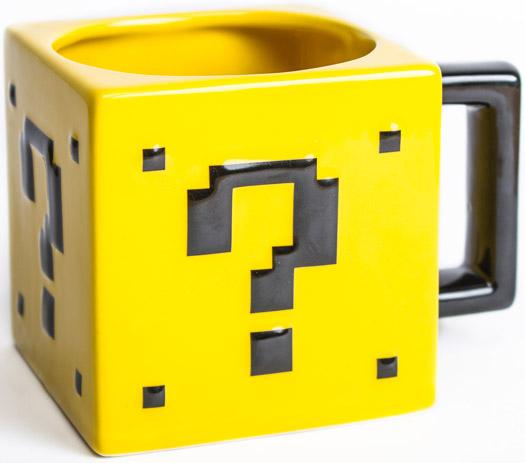 Super Mario Fragezeichen Tasse