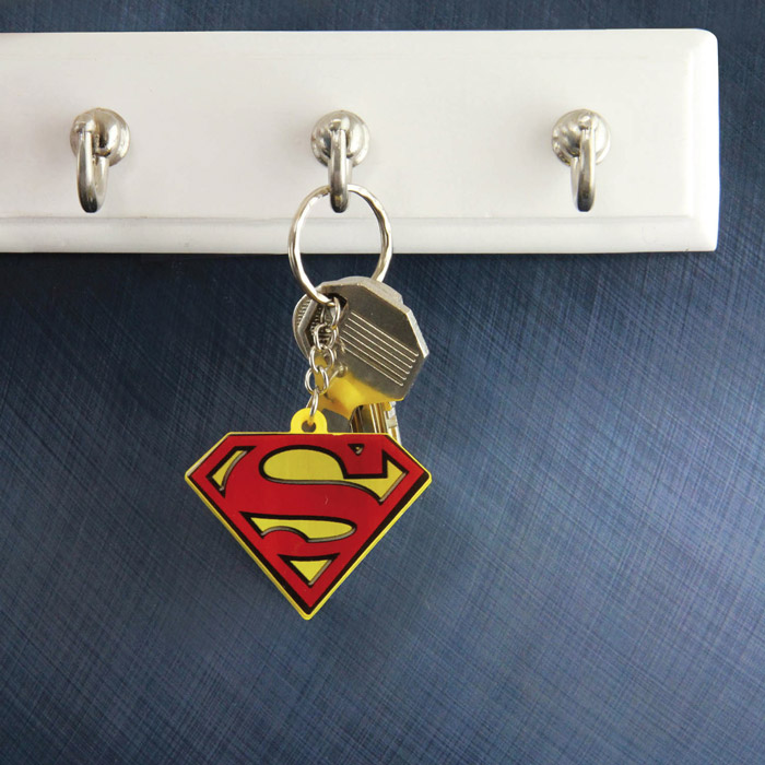 Superman Light Up Key Ring