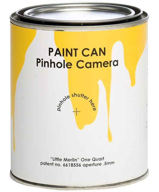 Paint Can Camera