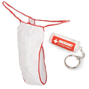Emergency Underwear Keyring