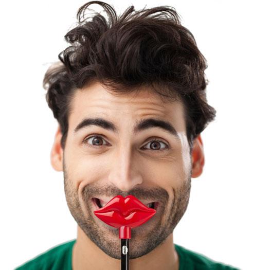 Flirten lippen
