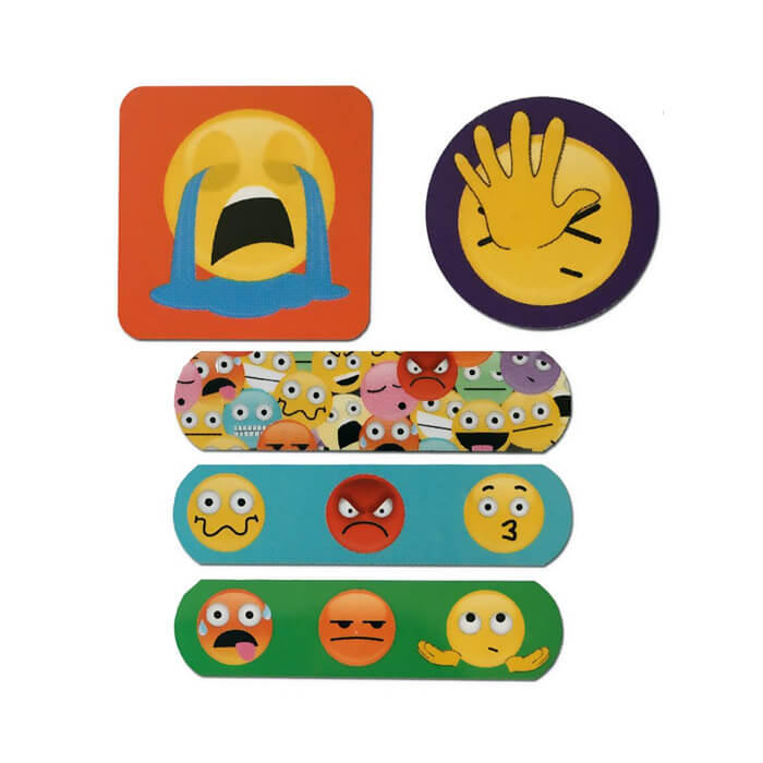 Ouch! Get Emojinal Plasters