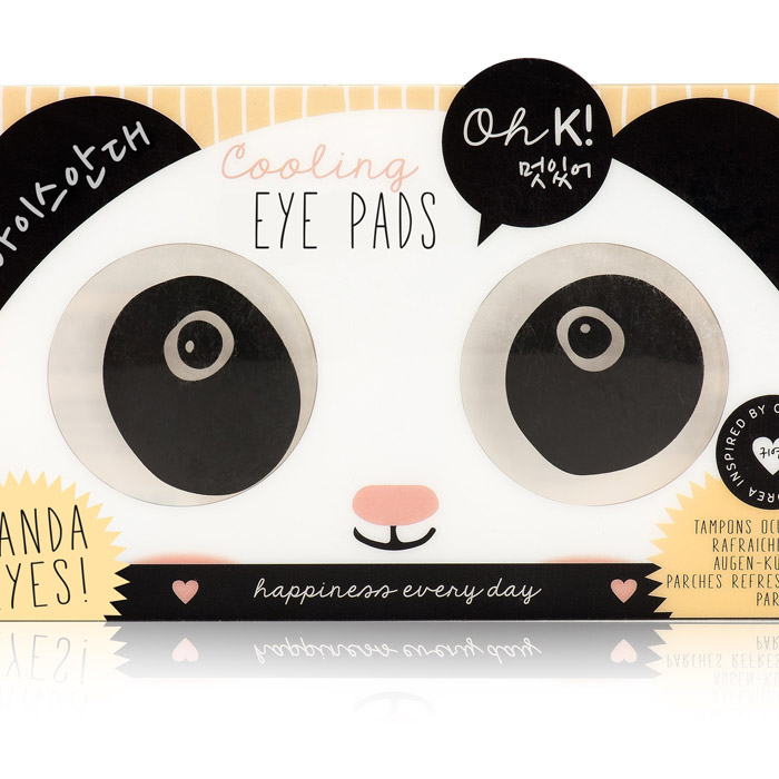 Oh K! Augenkühl-Pads Panda