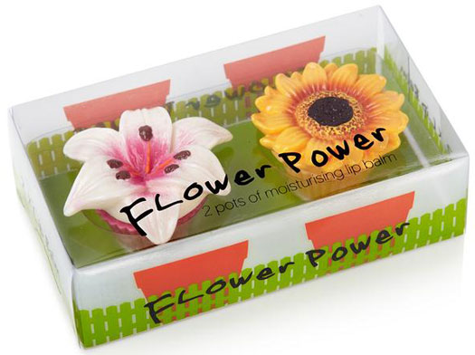 Flower Power Lippenbalsam