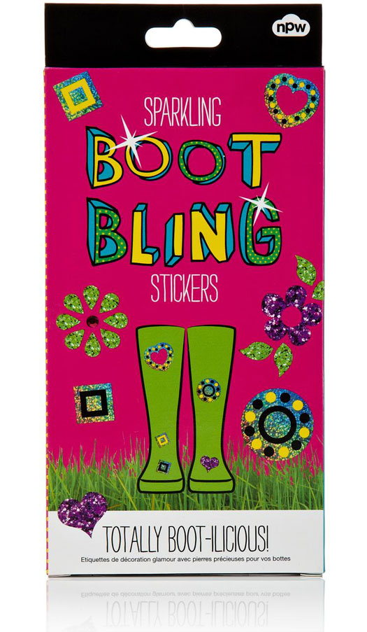 Boot Bling Stickers - Sparkling