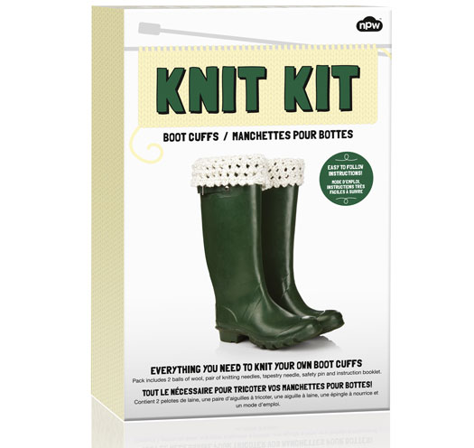 Knit Kit - Boot Cuffs