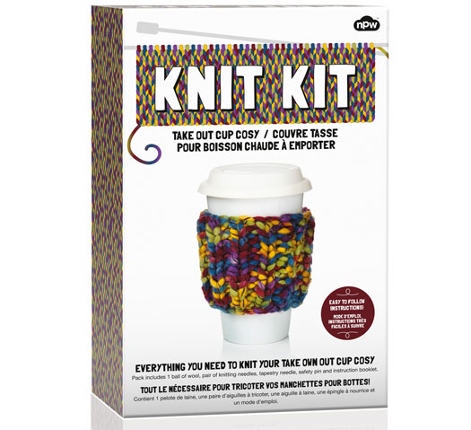 Strickset Knit Kit - Hülle Kaffeetasse