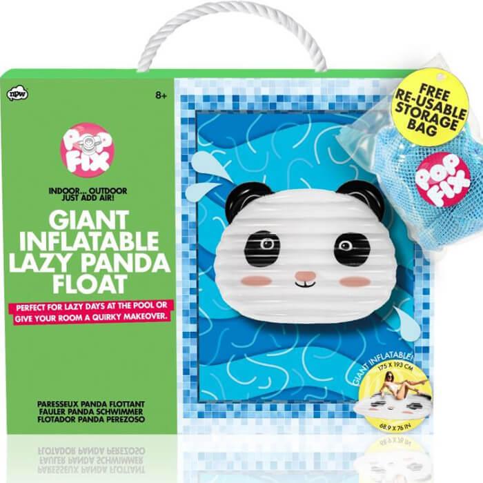 Lazy Panda Schwimminsel
