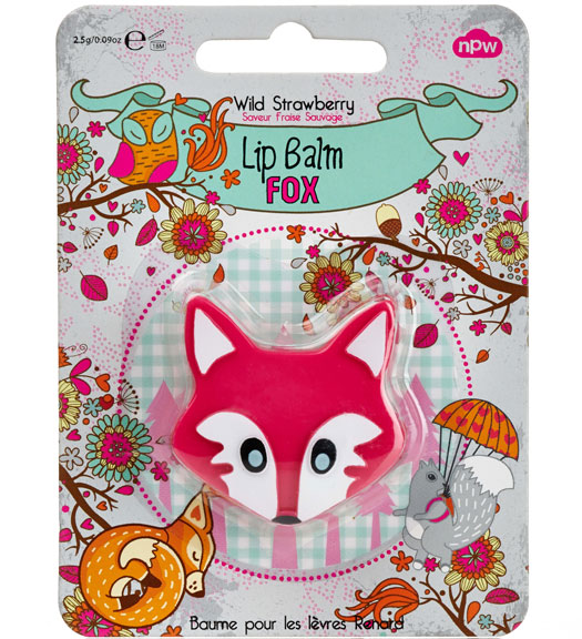 Fox Lip Balm Pink