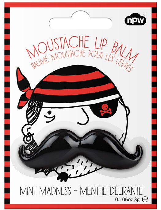Moustache Lip Balm Black