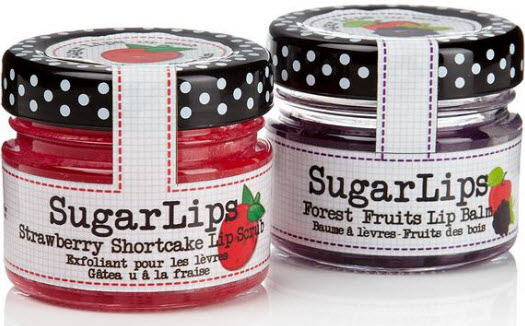 Sugar Lips Lip Scrub Set of 3