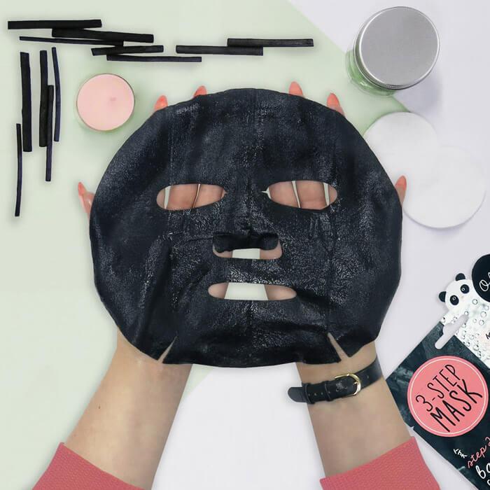 Oh K! Gesichtsmaskenset mit Holzkohle