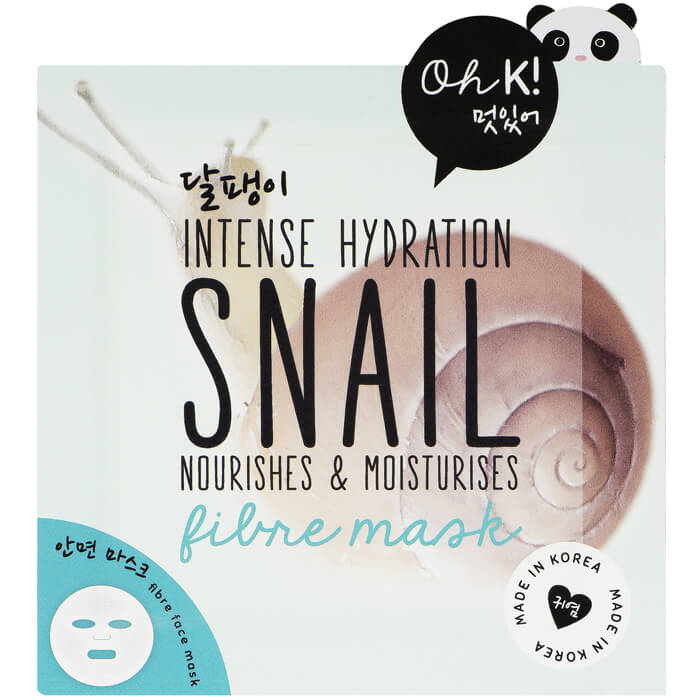 Oh K! Snail Mucin Sheet Face Mask
