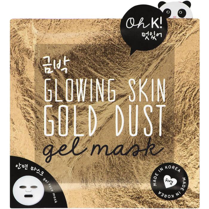 Oh K! Gesichtsmaske mit Goldstaub