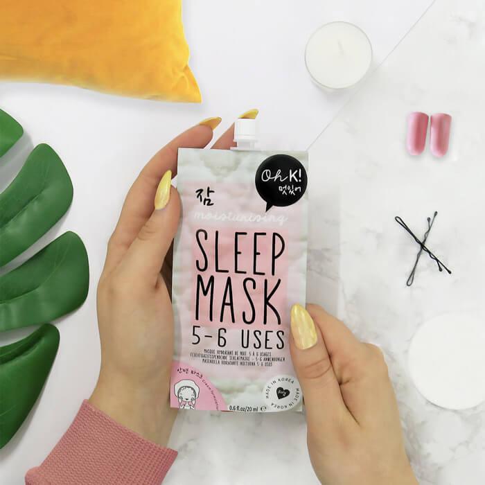 Oh K! Pflegende Schlafmaske