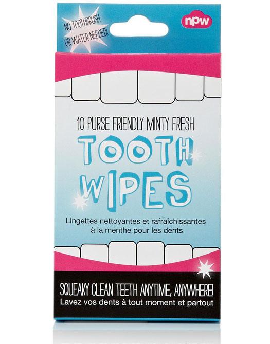Zahnpflegetücher