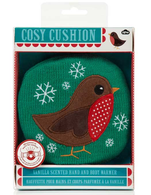 Cosy Cushion Robin