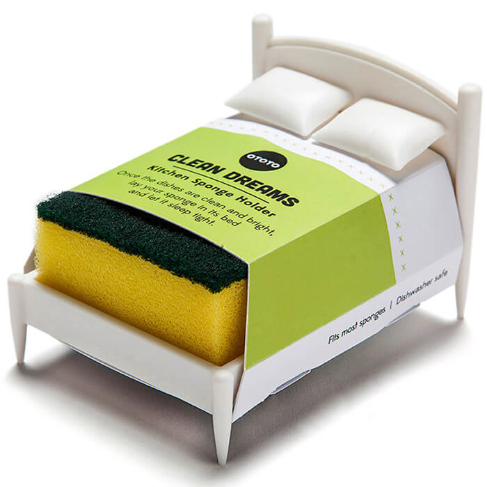 Schwammhalter Bett