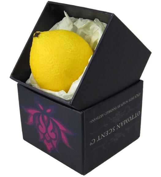 Handmade Fruit Soap: Lemon