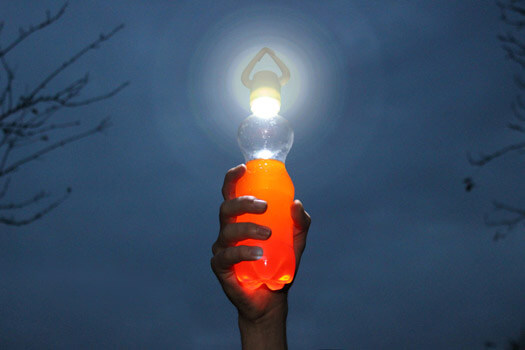 Glo - Flaschenlampe