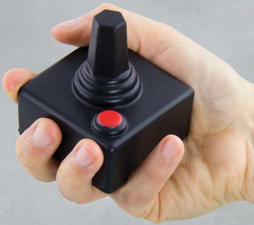 joystick stressball gadgets und geschenke. Black Bedroom Furniture Sets. Home Design Ideas