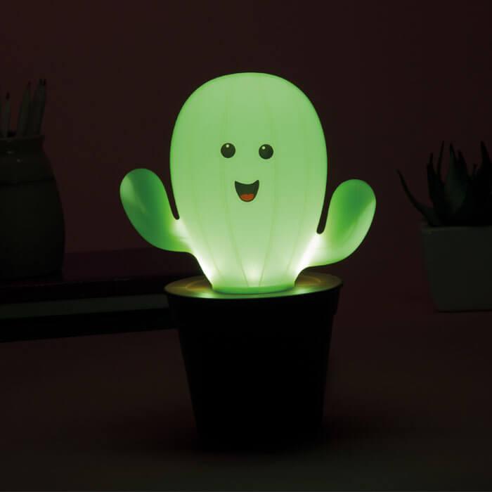 Kaktus Nachtlicht