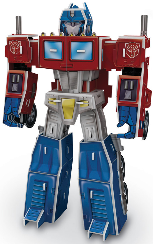 Transformers 3D Puzzle Optimus Prime