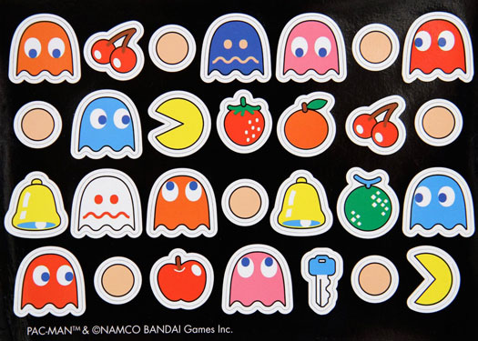 28 Pac Man Magnets