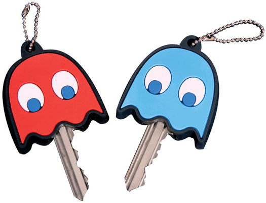 Pac Man Key Covers