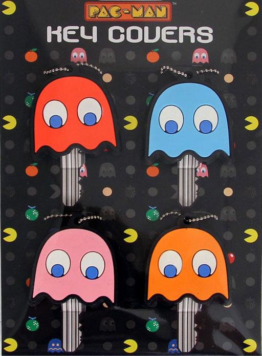 Pac Man Schlüsselkappen