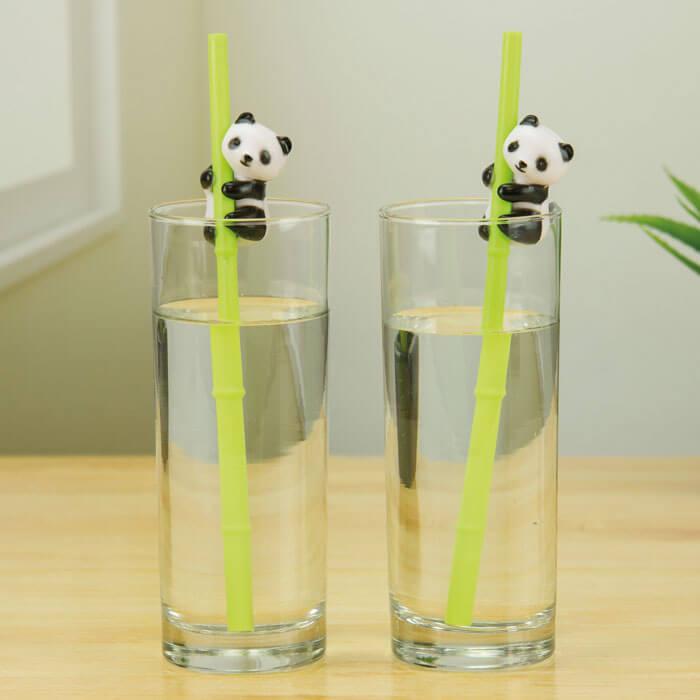 Panda Trinkhalme