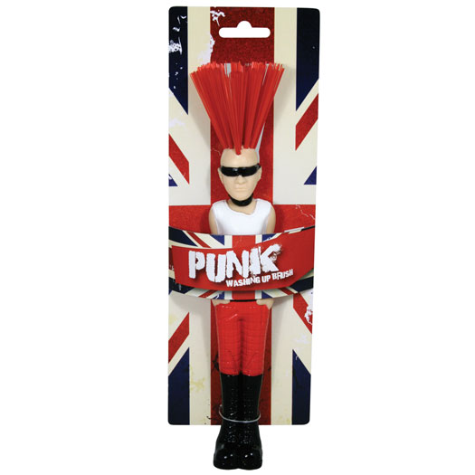 Union Jack Punk Washing Up Brush