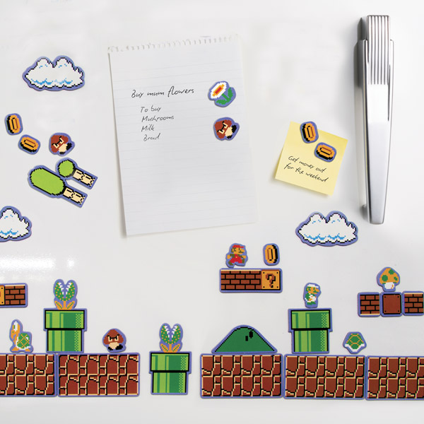 New Super Mario Brothers Wii Magnets Candy