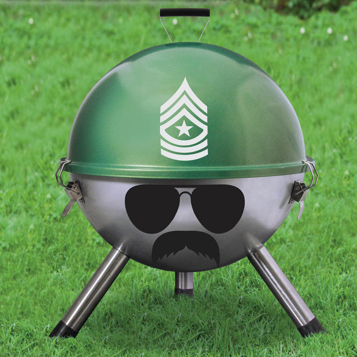 Tragbarer Kugelgrill Grill Sergeant