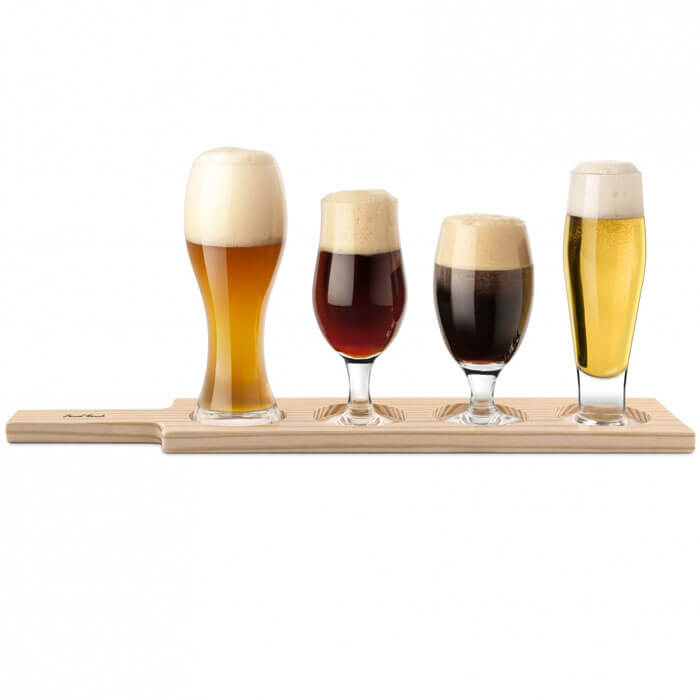 Beer Tasting Paddle Set