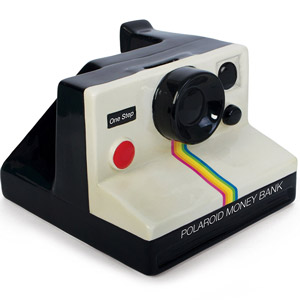 Polaroid Money Bank
