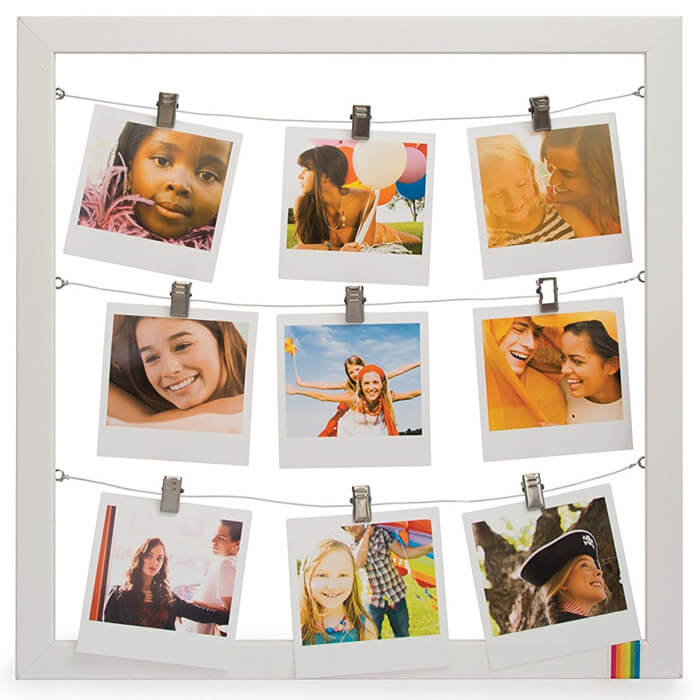 Polaroid String Photo Frame