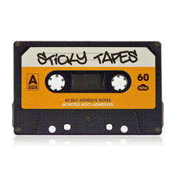 Sticky Cassette Tape Notes