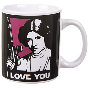 Star Wars I Love You Tasse