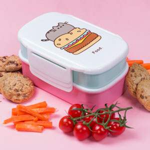 Pusheen Bentobox Set