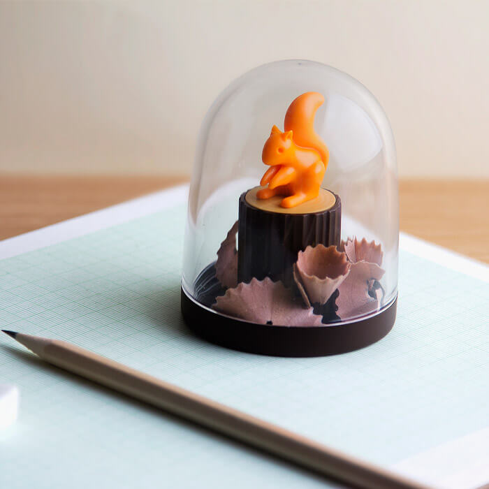 Pencil Sharpener Squirrel
