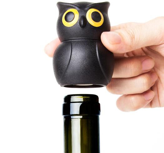 Weinverschluss Eule