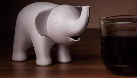 Zuckerstreuer Elefant
