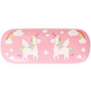 Unicorn Seeing Is Believing Glasses Case