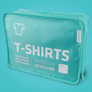 in-luggage pouch for your T-shirts