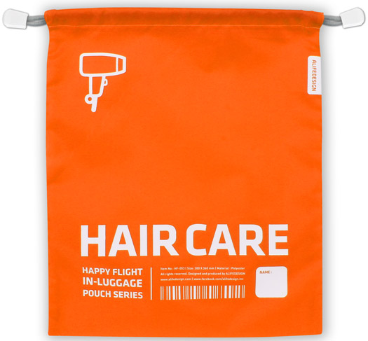 Luggage Pouch Haircare