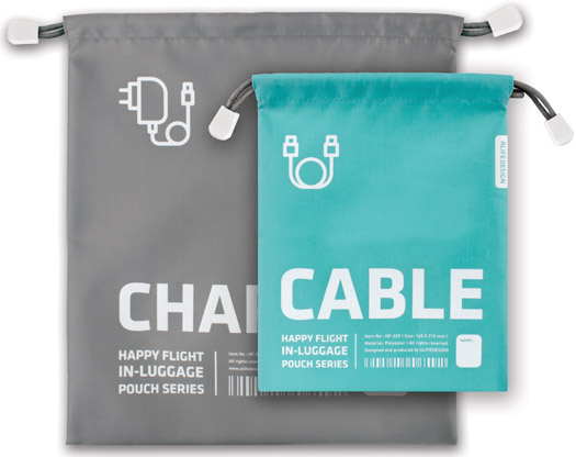 Charger & Cables Bag Set of 2